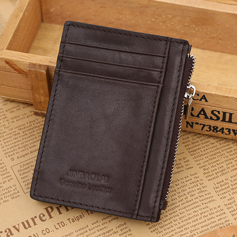 WALLET The Perfect Mens Minimalist Wallet - Coffee