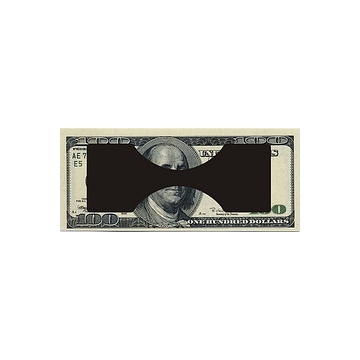 WALLET Invisible Money Clip - Black