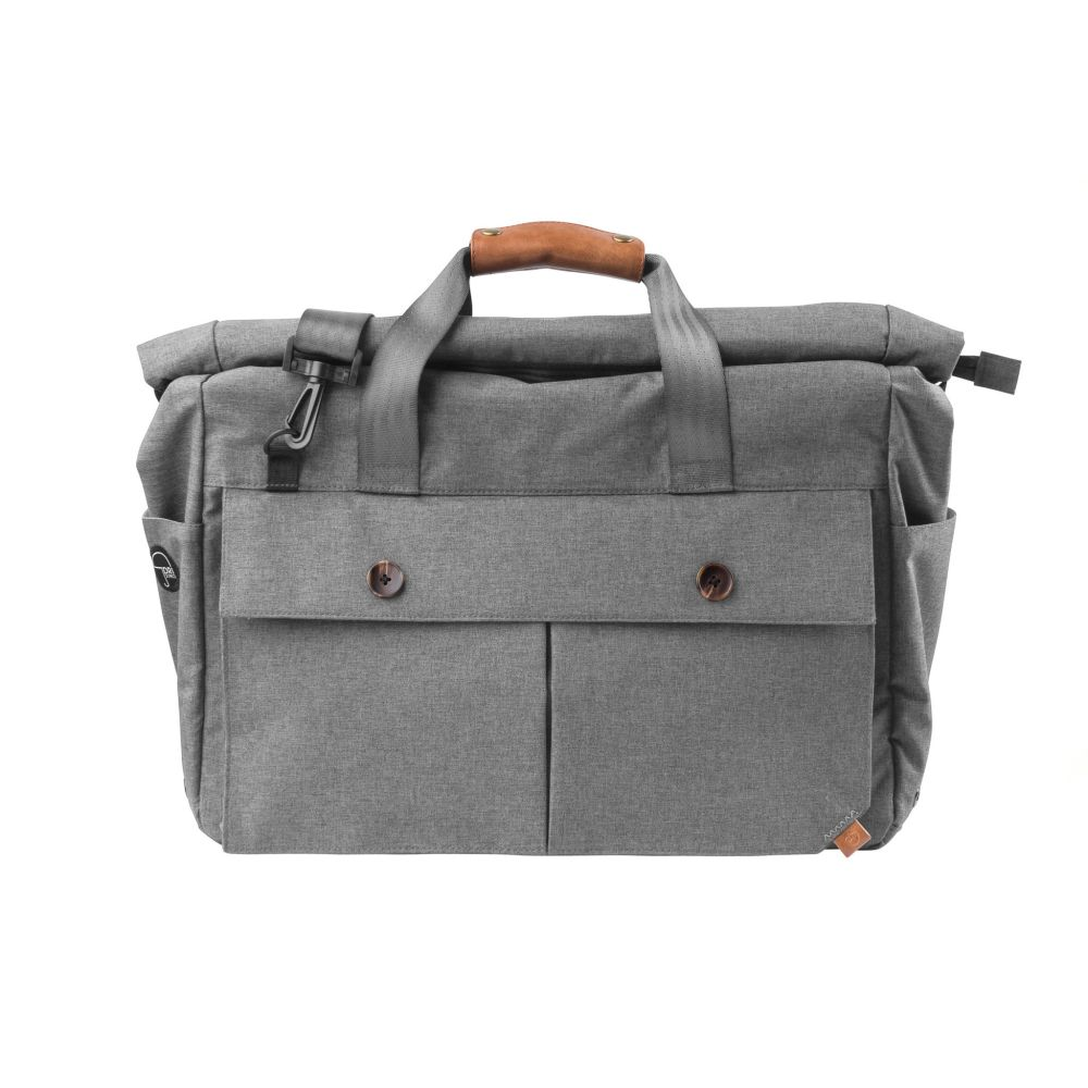 PKG Rolltop Duffle - Light Grey