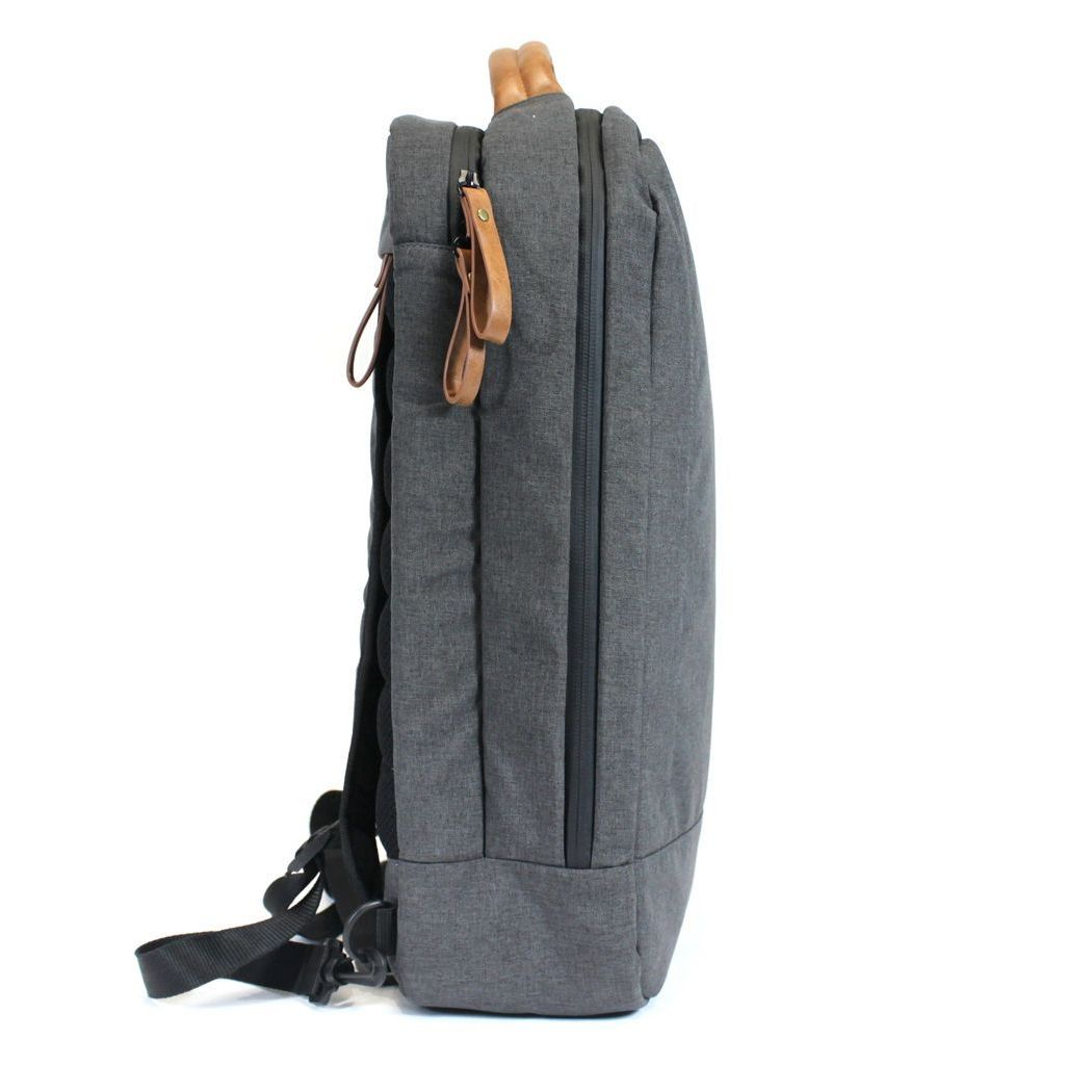 PKG Backpack - Brief Bag - Black