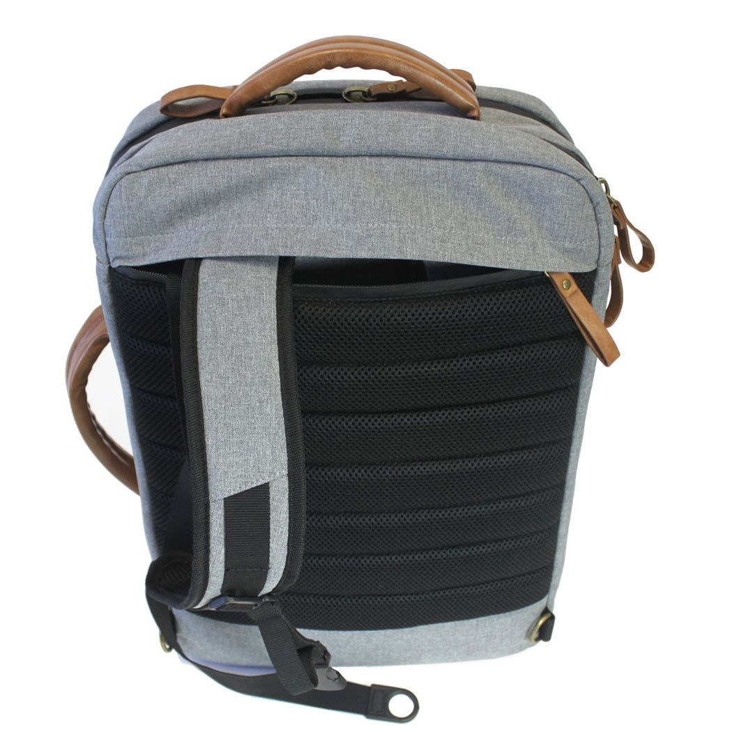 PKG Backpack - Brief Bag - Dark Grey