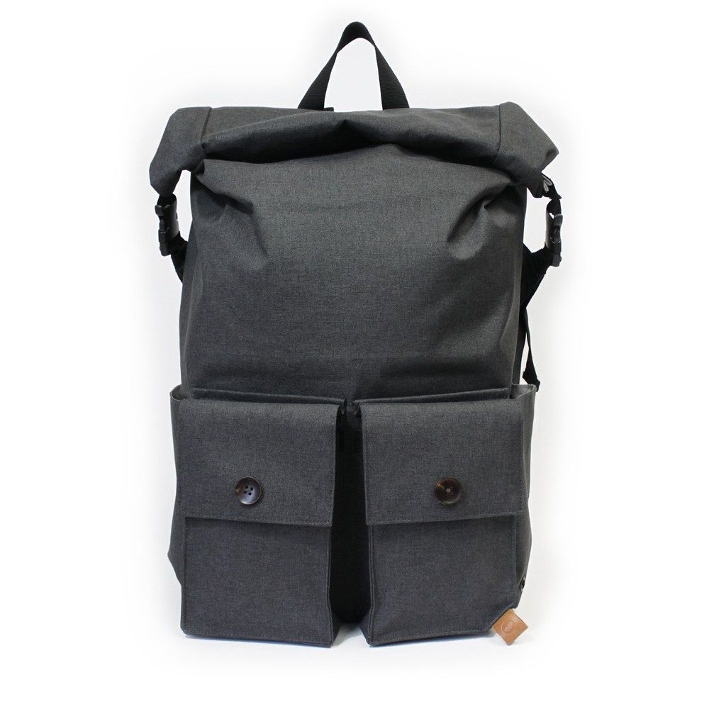 PKG Backpack Rolltop Pack - Dark Grey