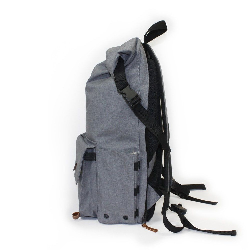 PKG Backpack Rolltop Pack - Light Grey