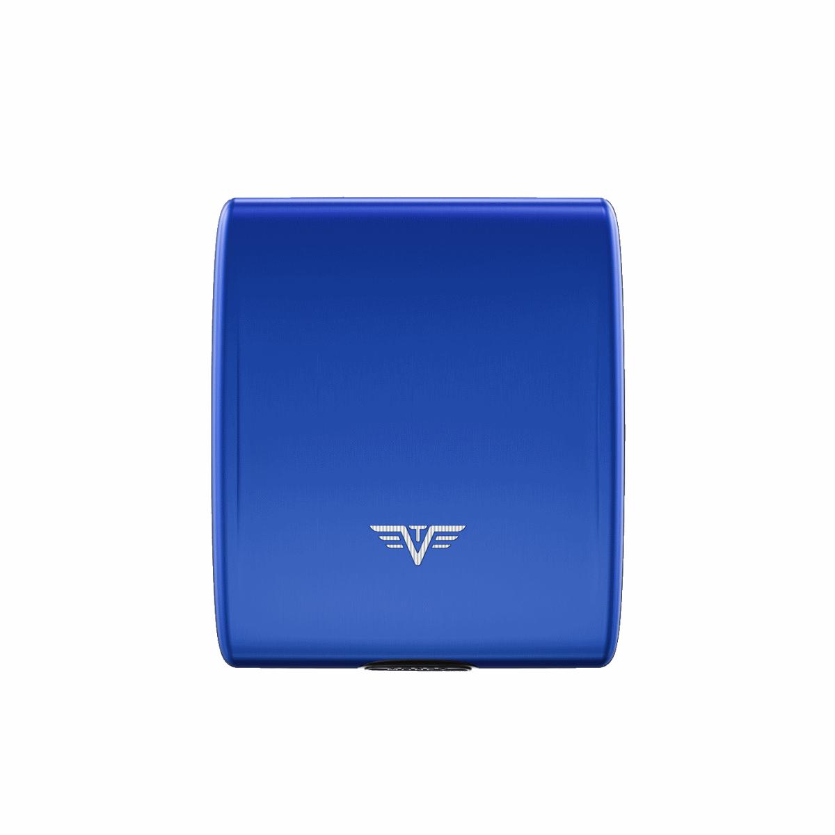 TRU VIRTU Aluminum Wallet Beluga - Money & Cards - Blue