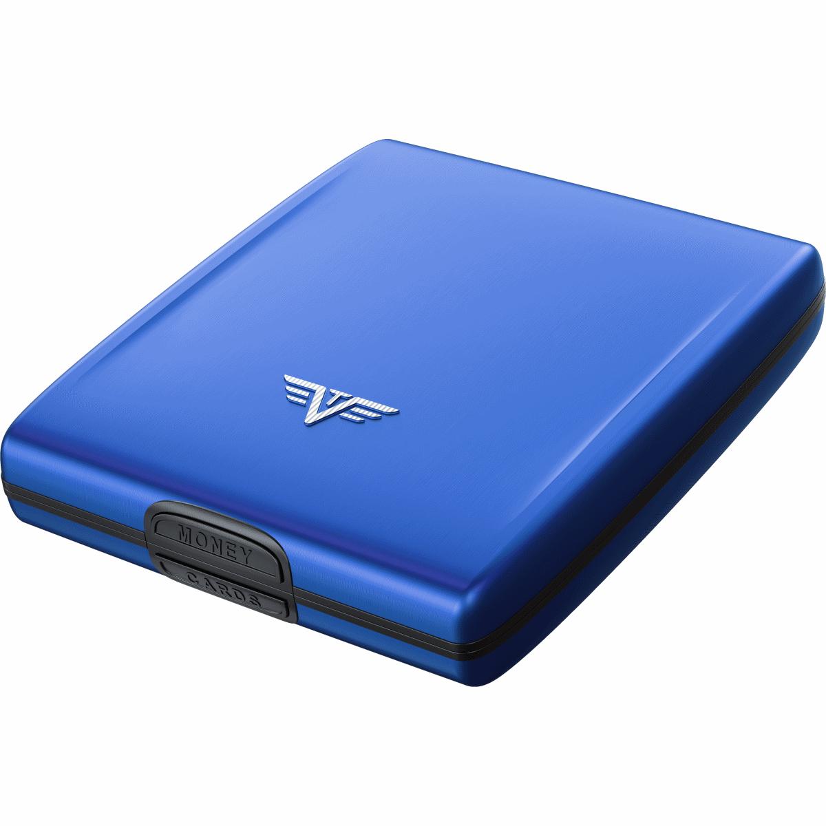 TRU VIRTU ארנק אלומיניום דגם Beluga - כחול