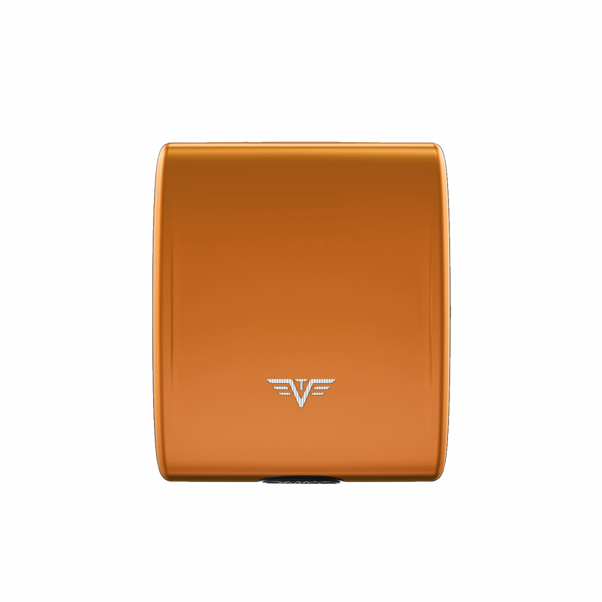 TRU VIRTU Aluminum Wallet Beluga - Money & Cards - Orange