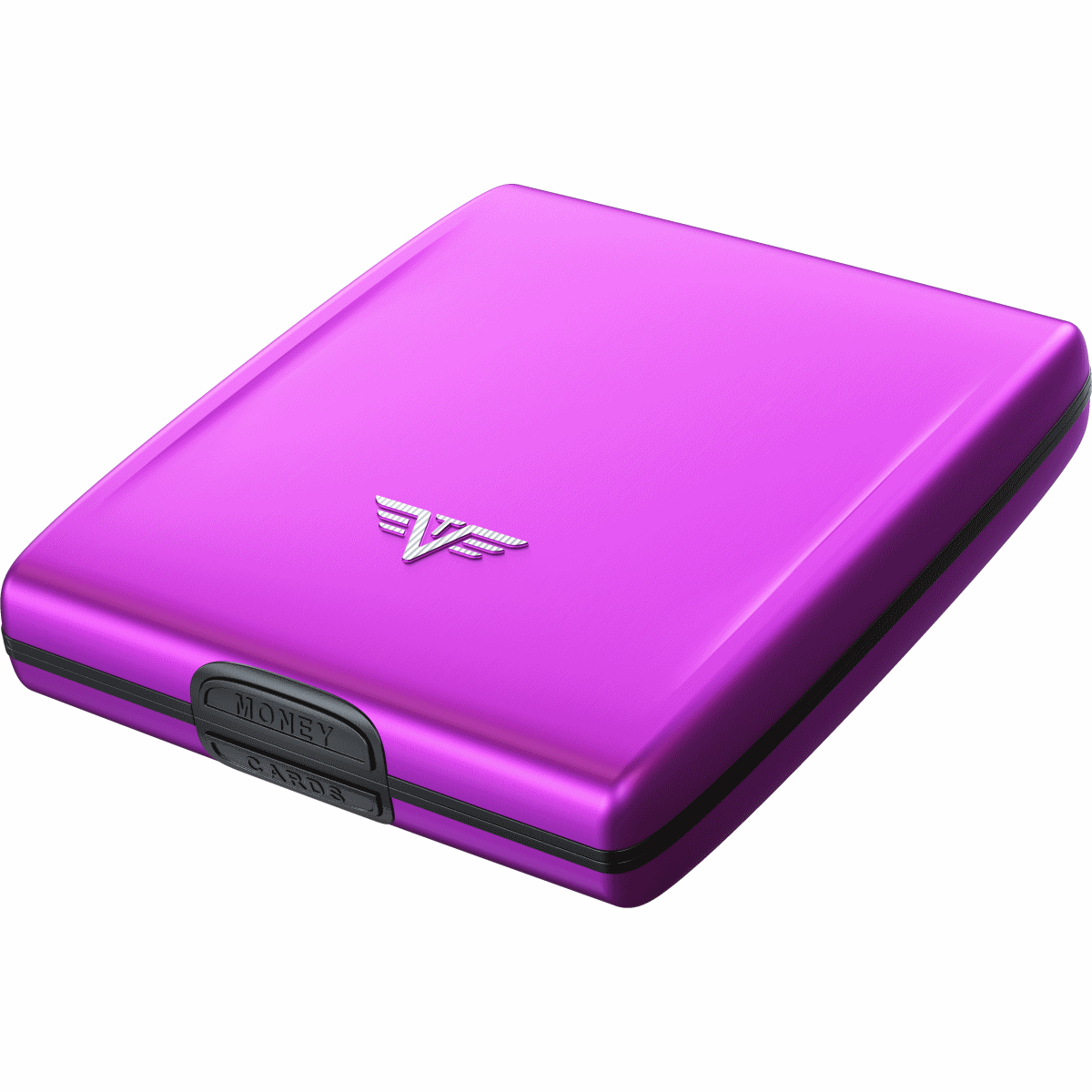 TRU VIRTU Aluminum Wallet Beluga - Purple