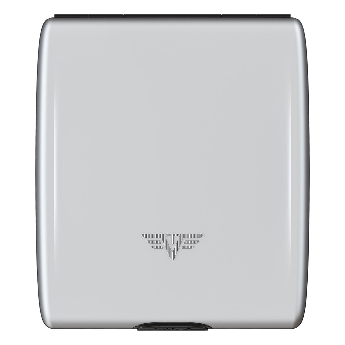 TRU VIRTU Aluminum Wallet Beluga - Money & Cards - Silk Line - Silver