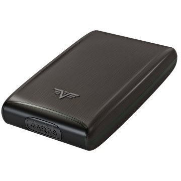 TRU VIRTU Aluminum Card Case Fun - Black