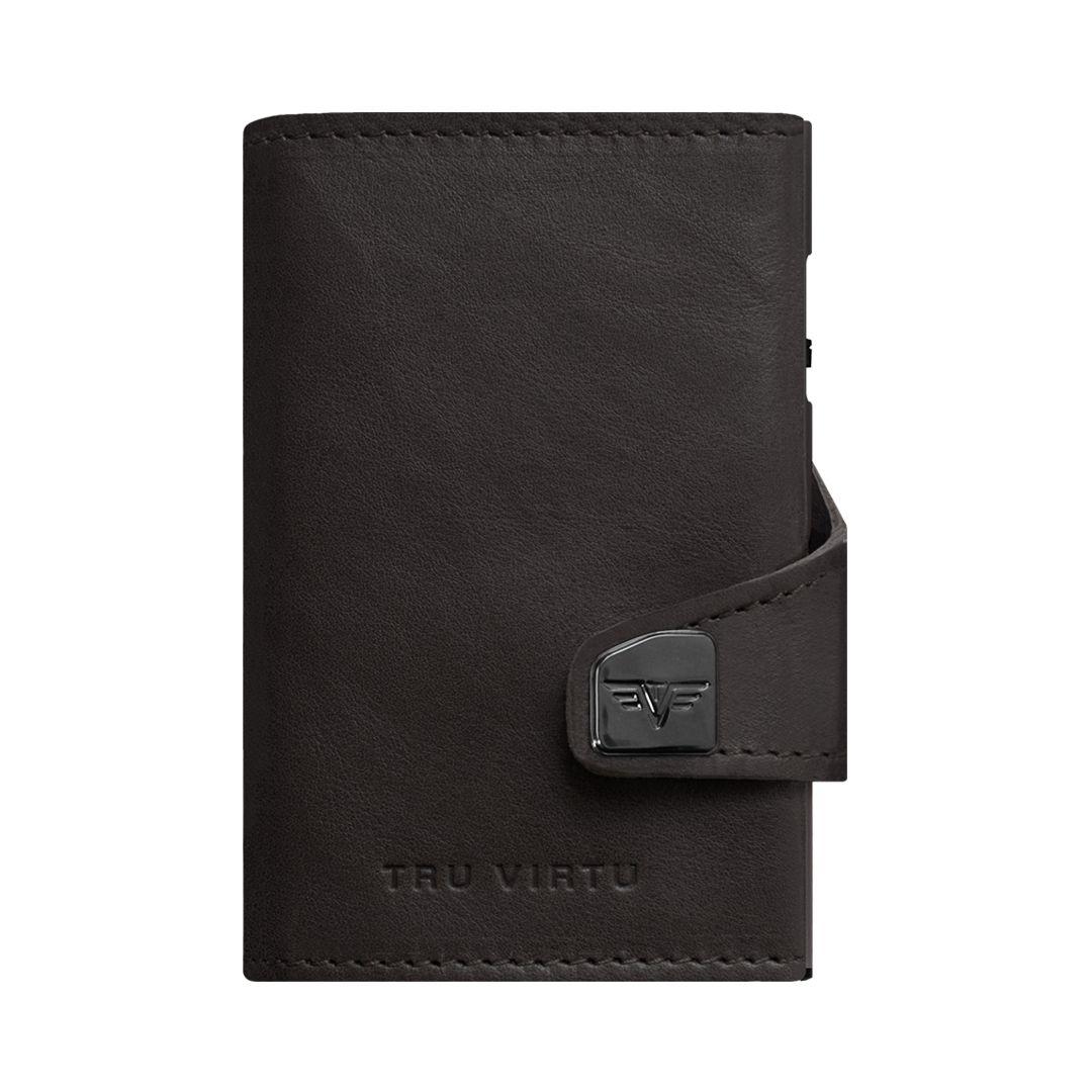 TRU VIRTU Click n Slide Wallet - Dakota Black