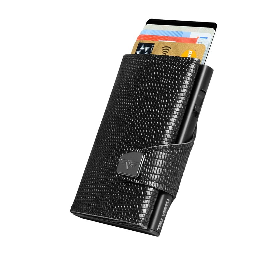 Click n Slide Wallet - Black Iguana