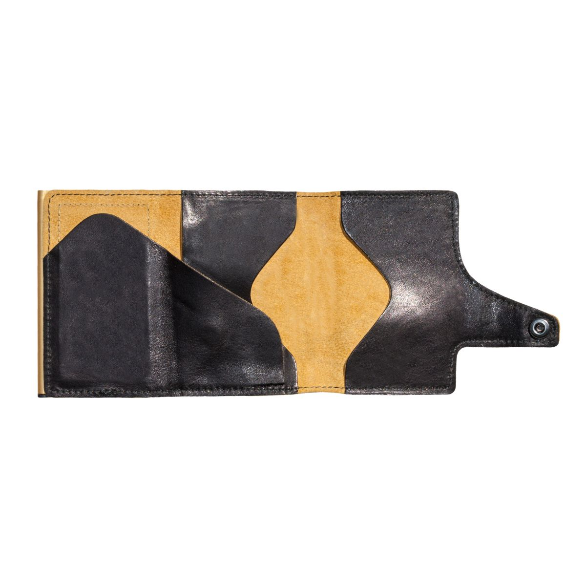 TRU VIRTU Click n Slide Wallet - Caramba Black / Gold