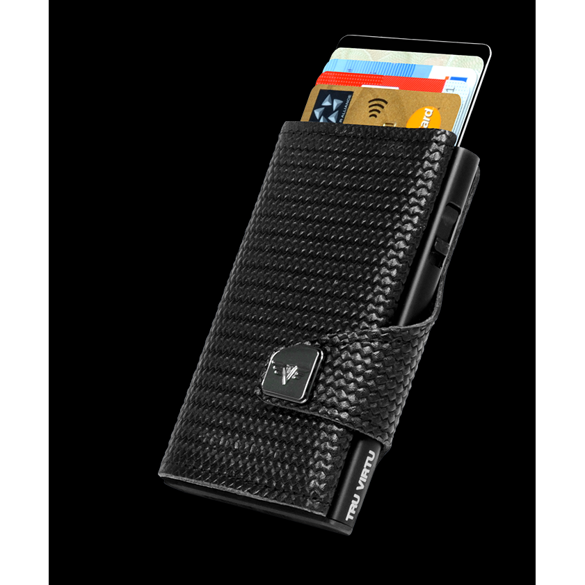 Click n Slide Wallet - Carbon