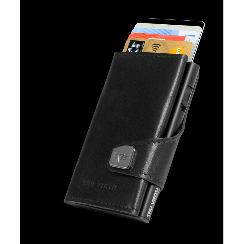 Click n Slide Wallet - Nappa Black