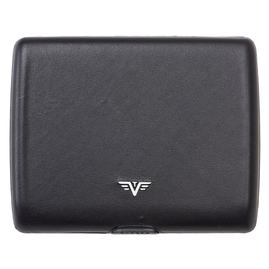 TRU VIRTU Aluminum Wallet Ray - Paper & Cards - Leather Line - Nappa Black