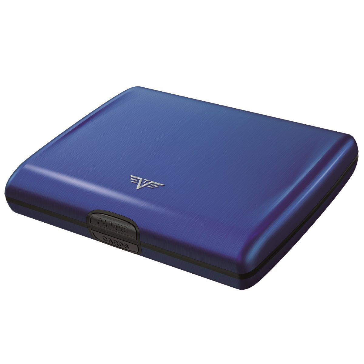 TRU VIRTU Aluminum Wallet Ray - Blue