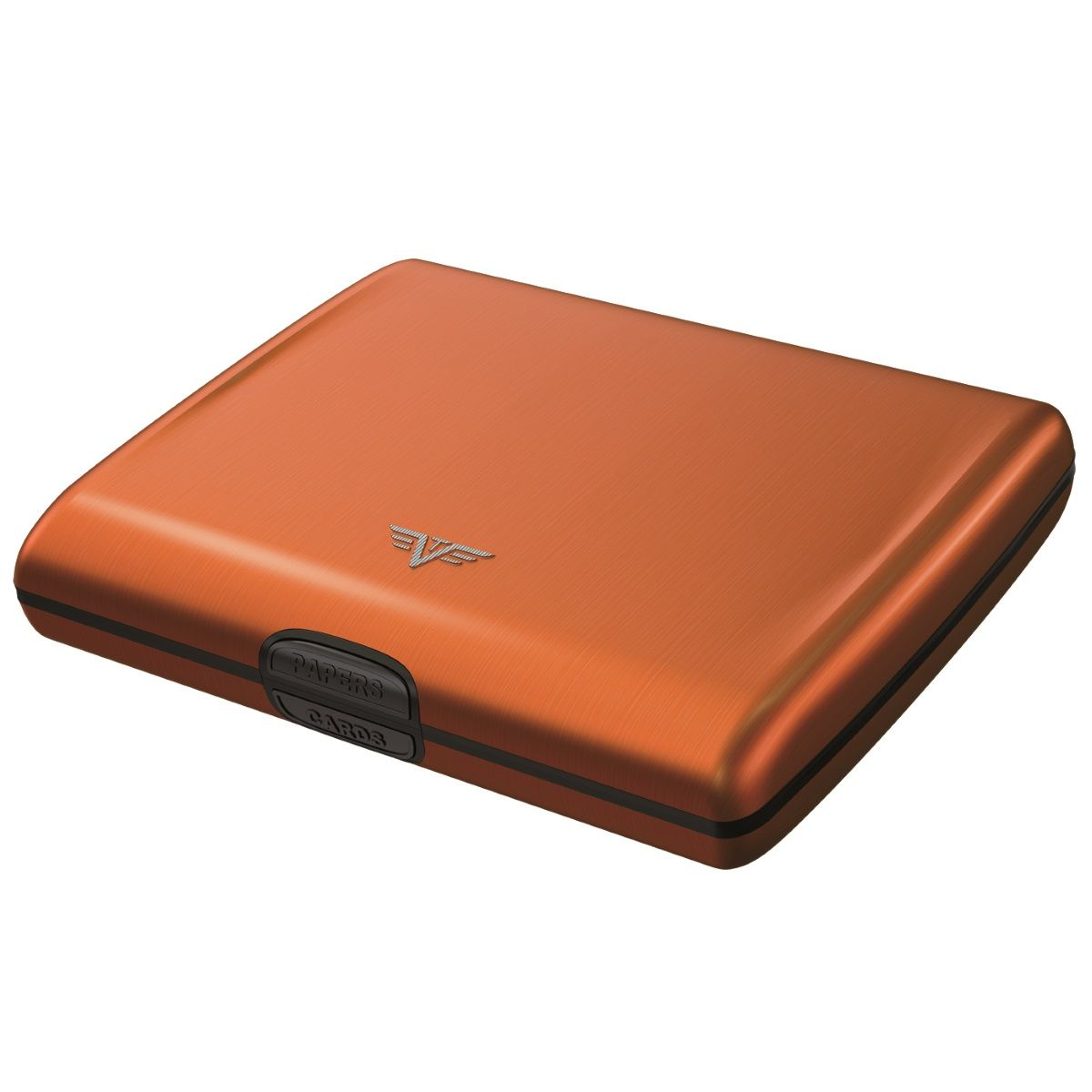 Aluminum Wallet Ray - Orange