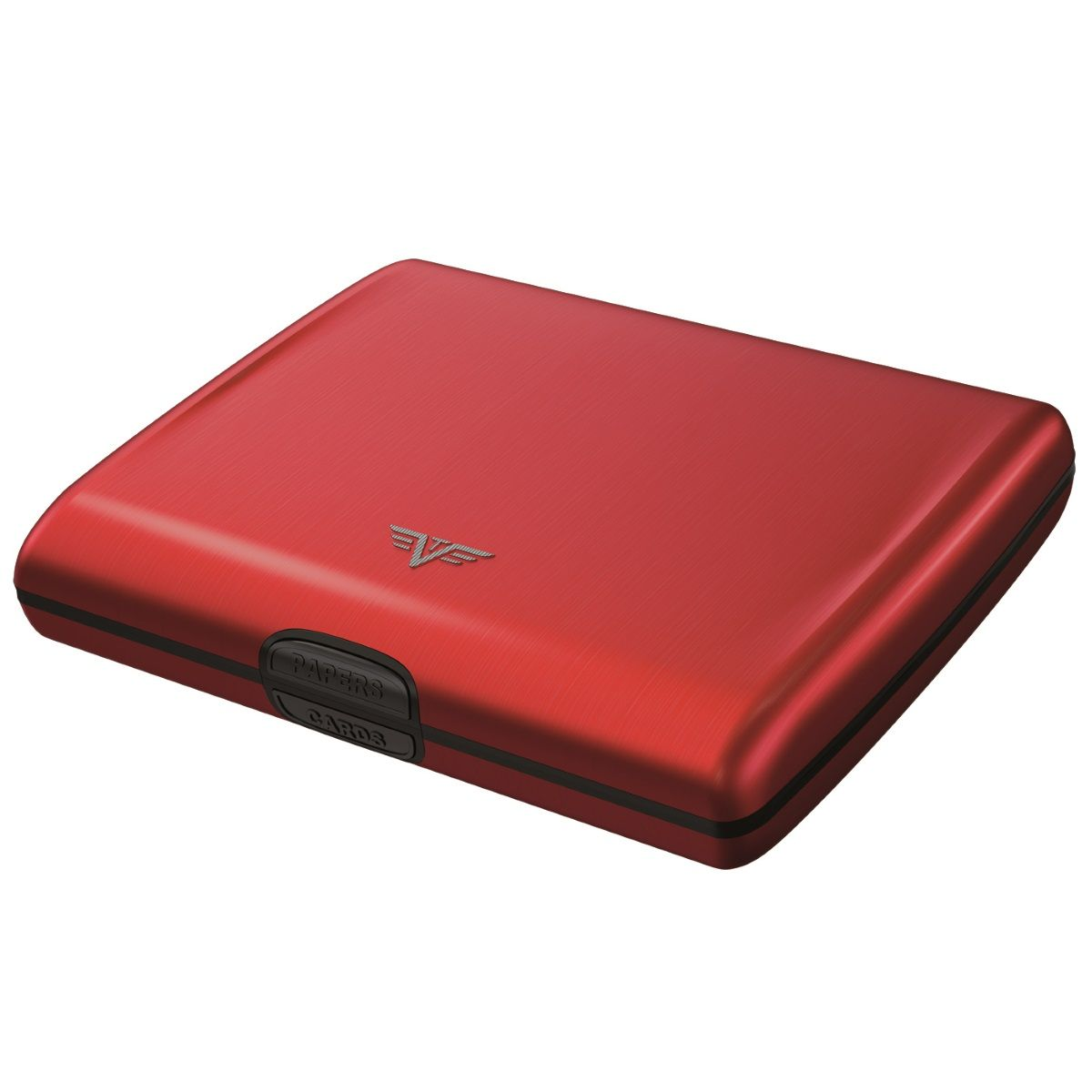 TRU VIRTU Aluminum Wallet Ray - Red