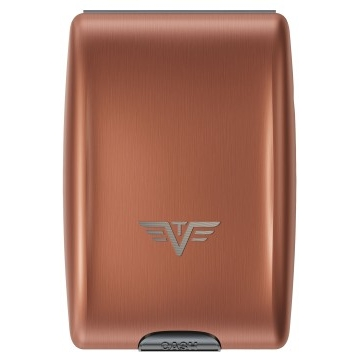 TRU VIRTU Aluminum Wallet - Coffee