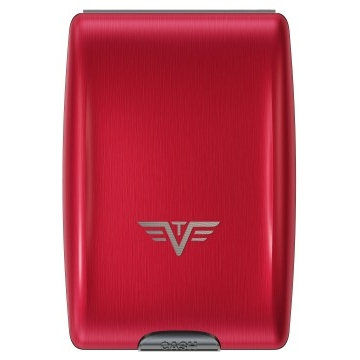 TRU VIRTU Aluminum Wallet - Red