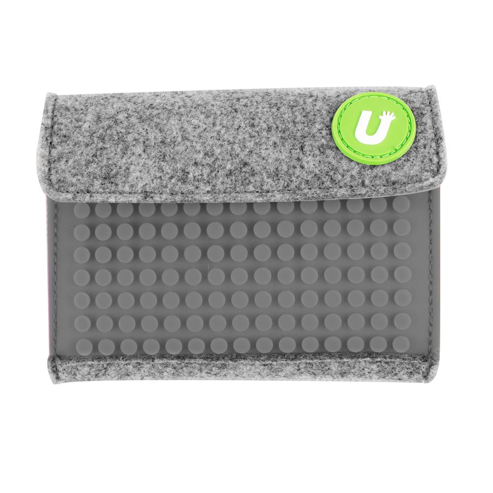 UPixel Pixel Wallet - Grey