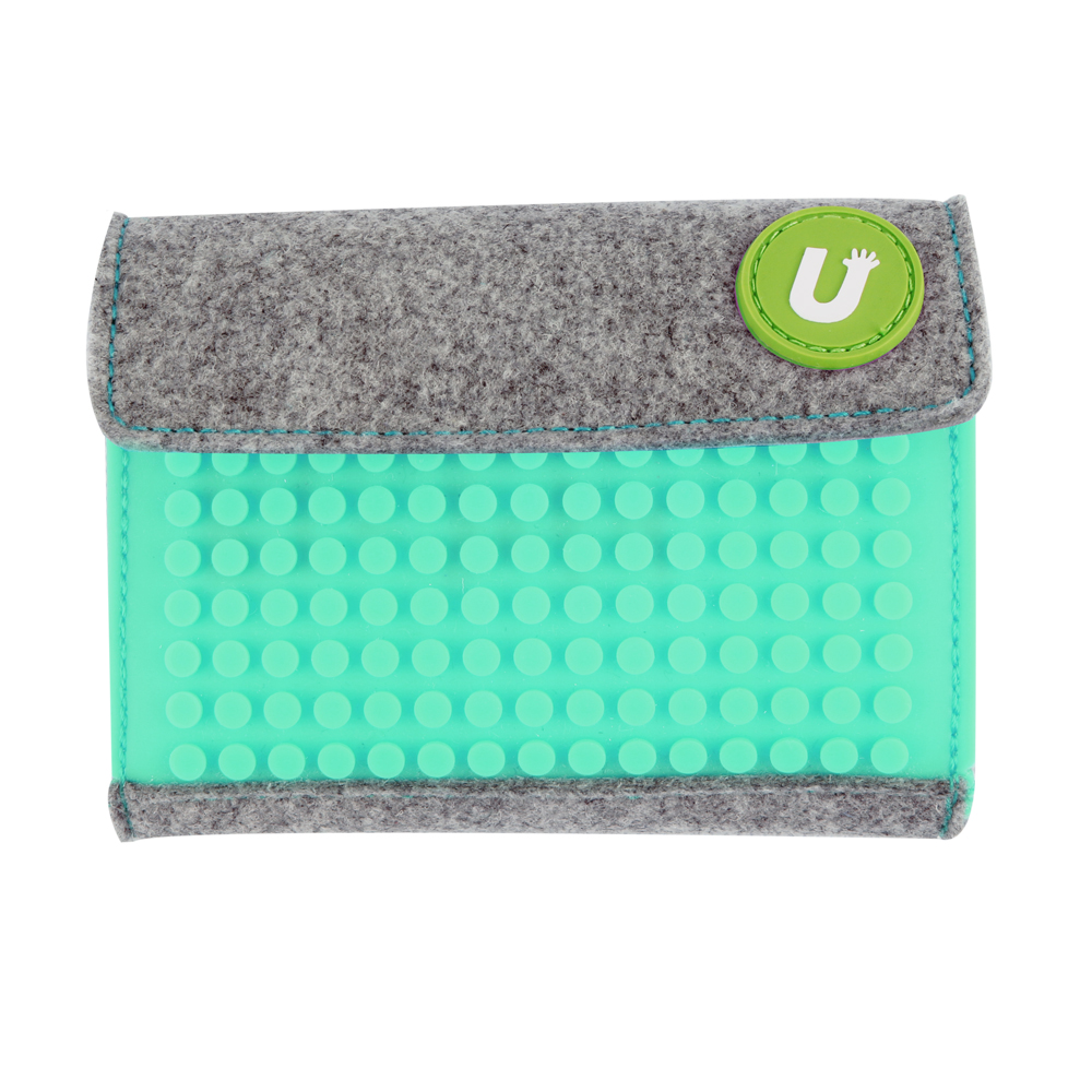 Pixel Wallet - Turquoise