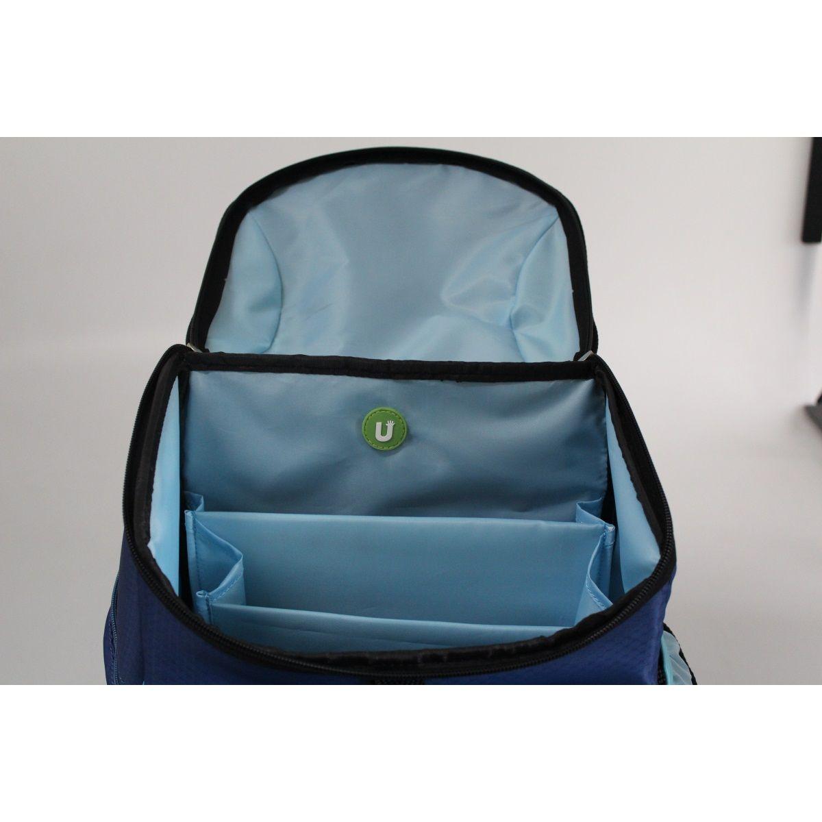 UPixel תיק גב לבית ספר פיקסלים - כחול
