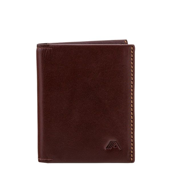 e887703783fb A-SLIM Leather Wallet Origami - Brown