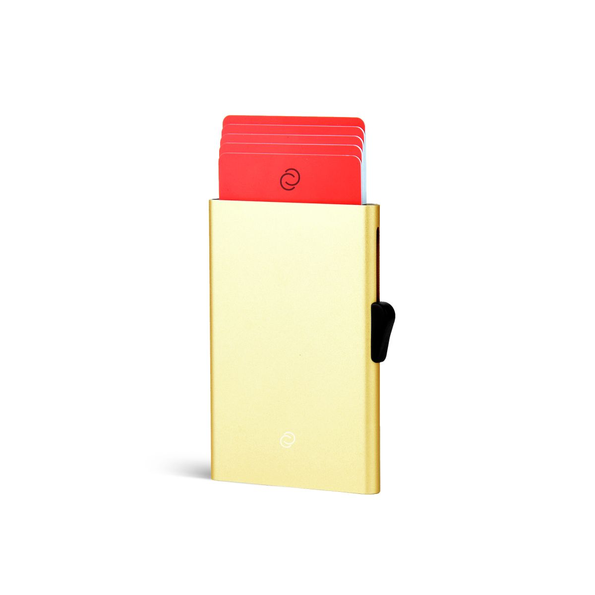C-Secure Slim Aluminum Card Holder - Gold