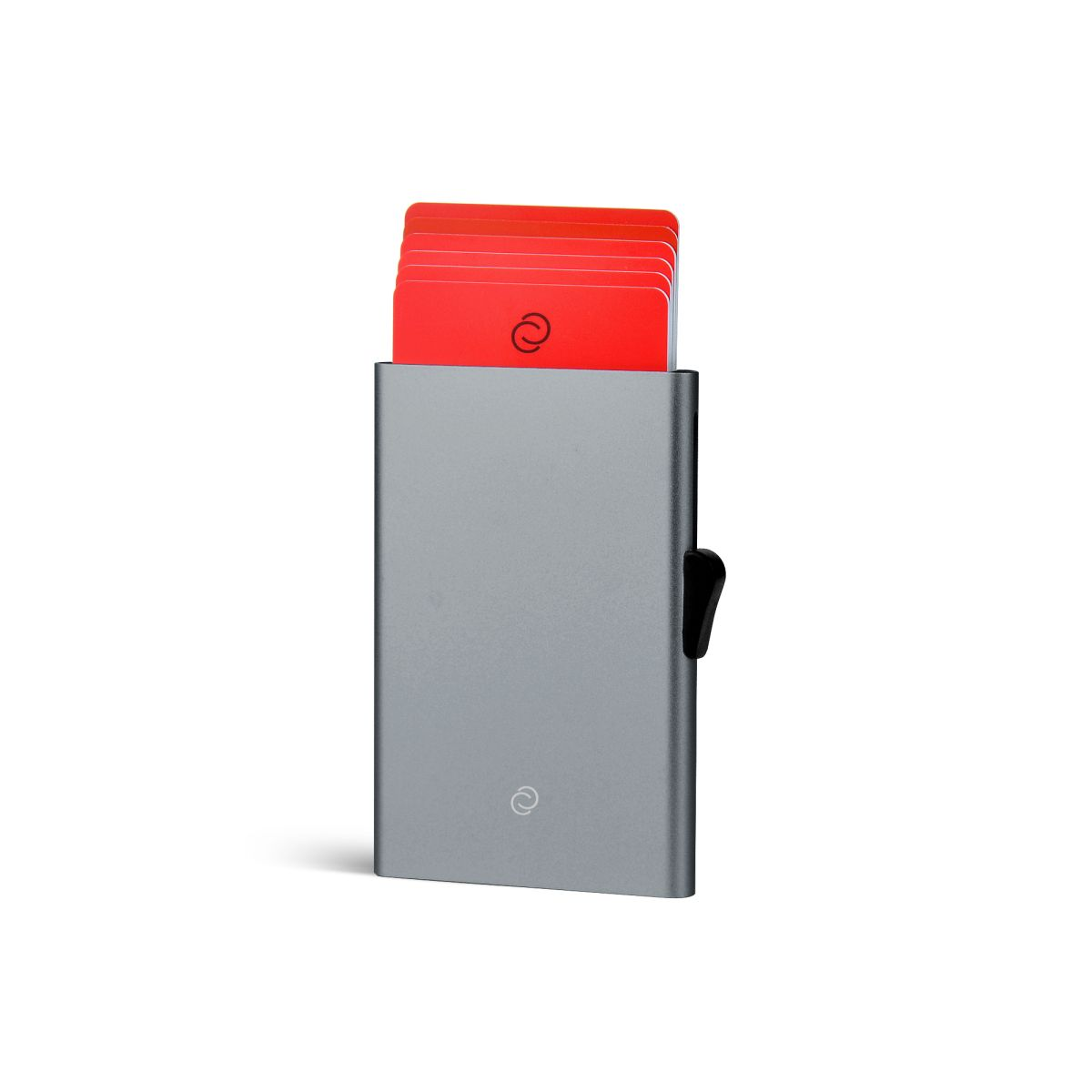 C-Secure ארנק אלומיניום מינימלסטי לכרטיסים - טיטניום