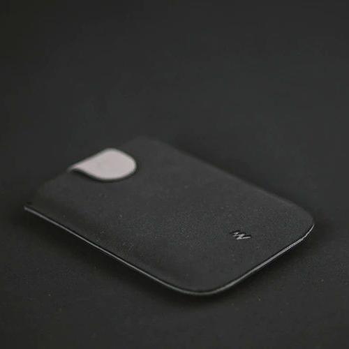 dax ארנק משיכה מינימליסטי משודרג V2.0 - שחור\אפור