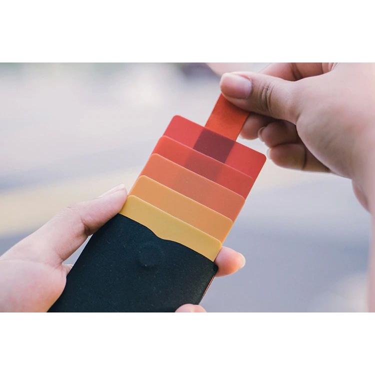 dax Cascading Pull Tab Wallet V2.0 - Black