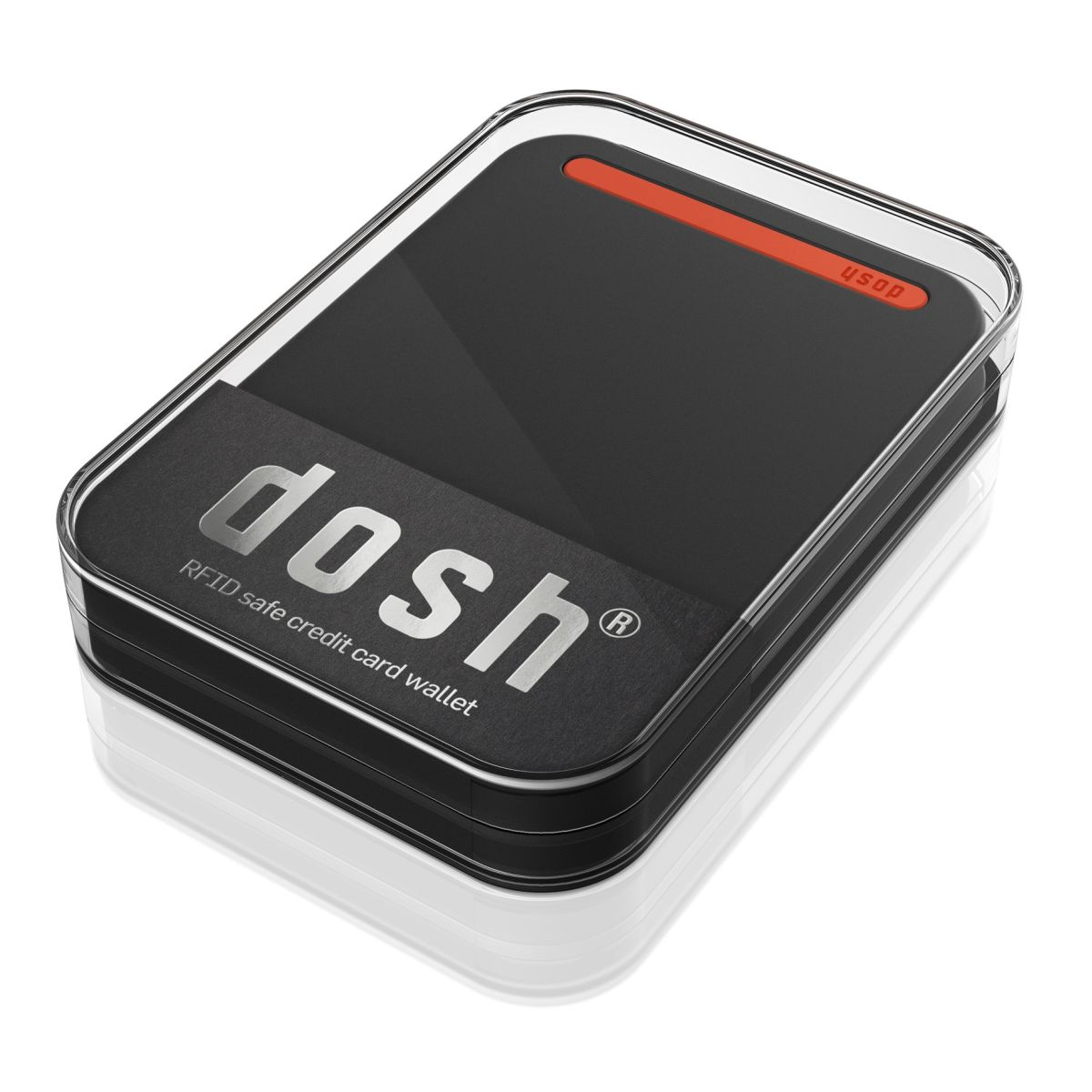 dosh AERO RFID - FLAME- Black / Orange