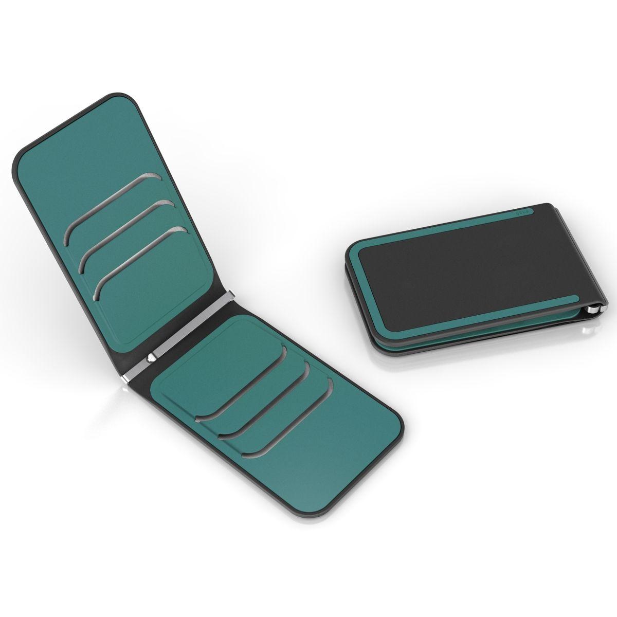 dosh LUXE RFID - שחור \ כחול