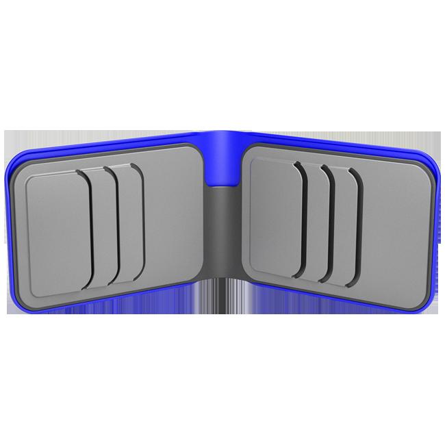 dosh ארנק dosh דגם STREET - כחול\אפור