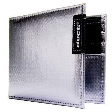 Ducti Duct Tape Bi-Fold Wallet - Silver