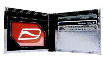 Ducti Duct Tape Bi-Fold Wallet - Silver/Reflection
