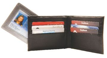 Ducti Duct Tape Joey Wallet - Black