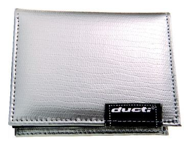 Ducti Duct Tape Undercover Wallet - Silver