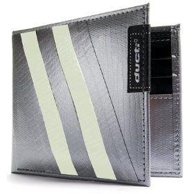 Ducti ארנק Duct Tape דגם Bi-Fold Hybrid - כסוף\זוהר