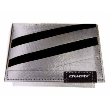 Ducti Duct Tape Undercover Wallet - Silver/Black