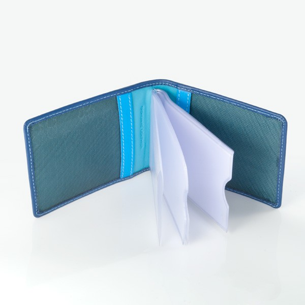 DuDu Compact Multi color credit card holder - Blue