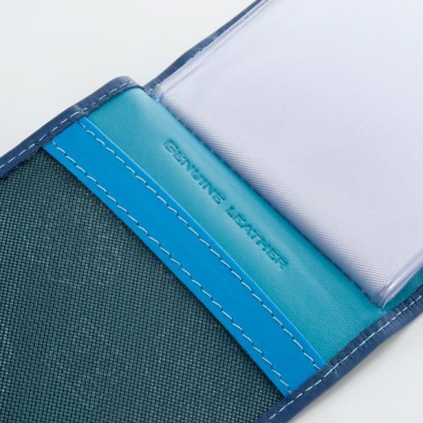 DuDu Compact Multi color credit card holder - Blue