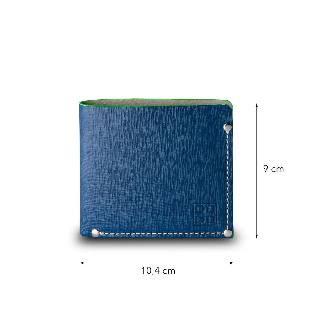 DuDu Premium Practical Wallet - Blue