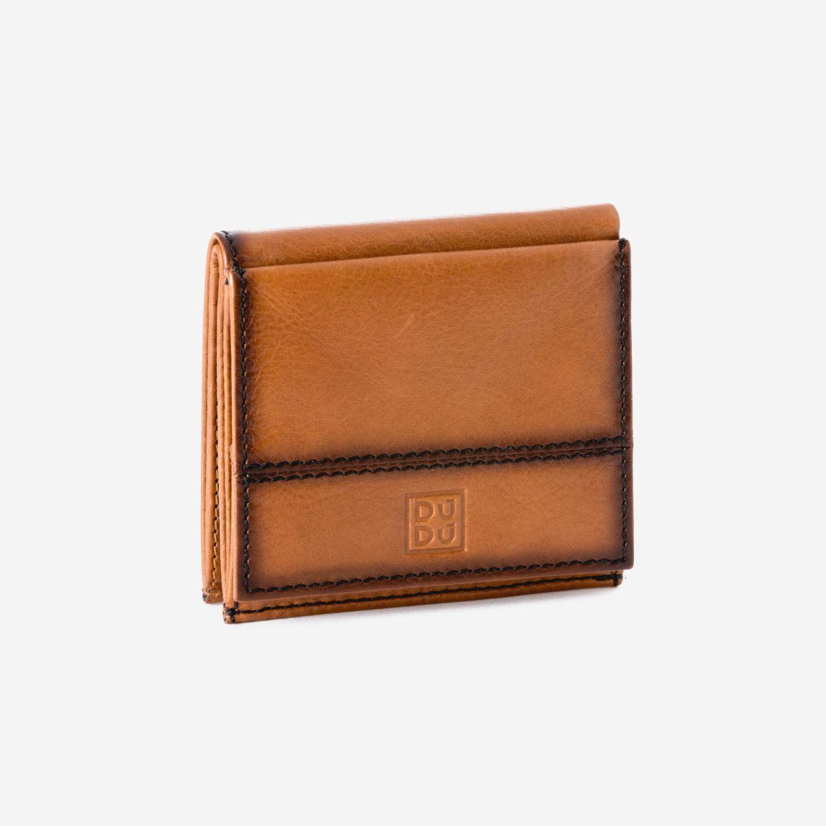 Small Unique Wallet  - Light Brown