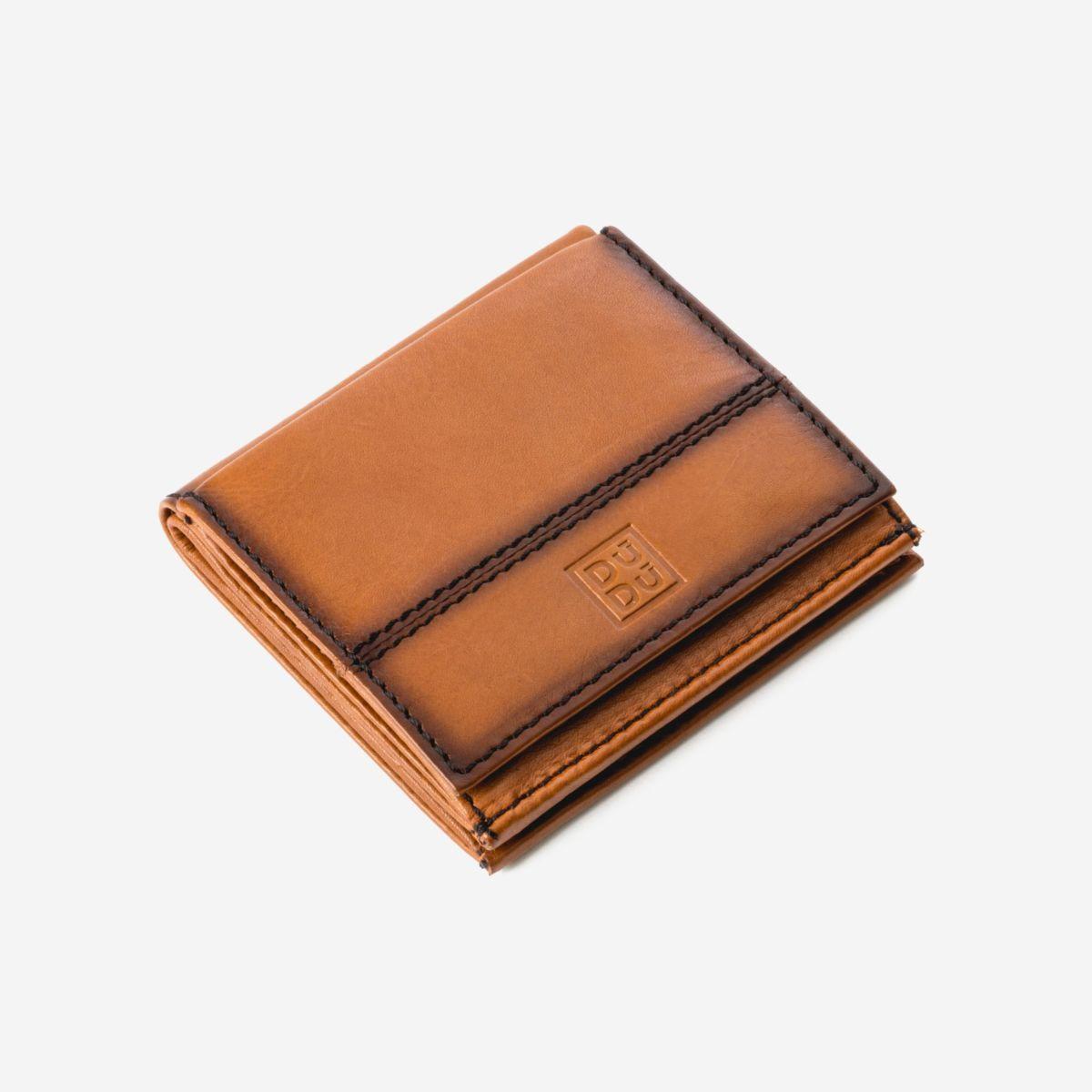 DuDu Small Unique Wallet  - Light Brown