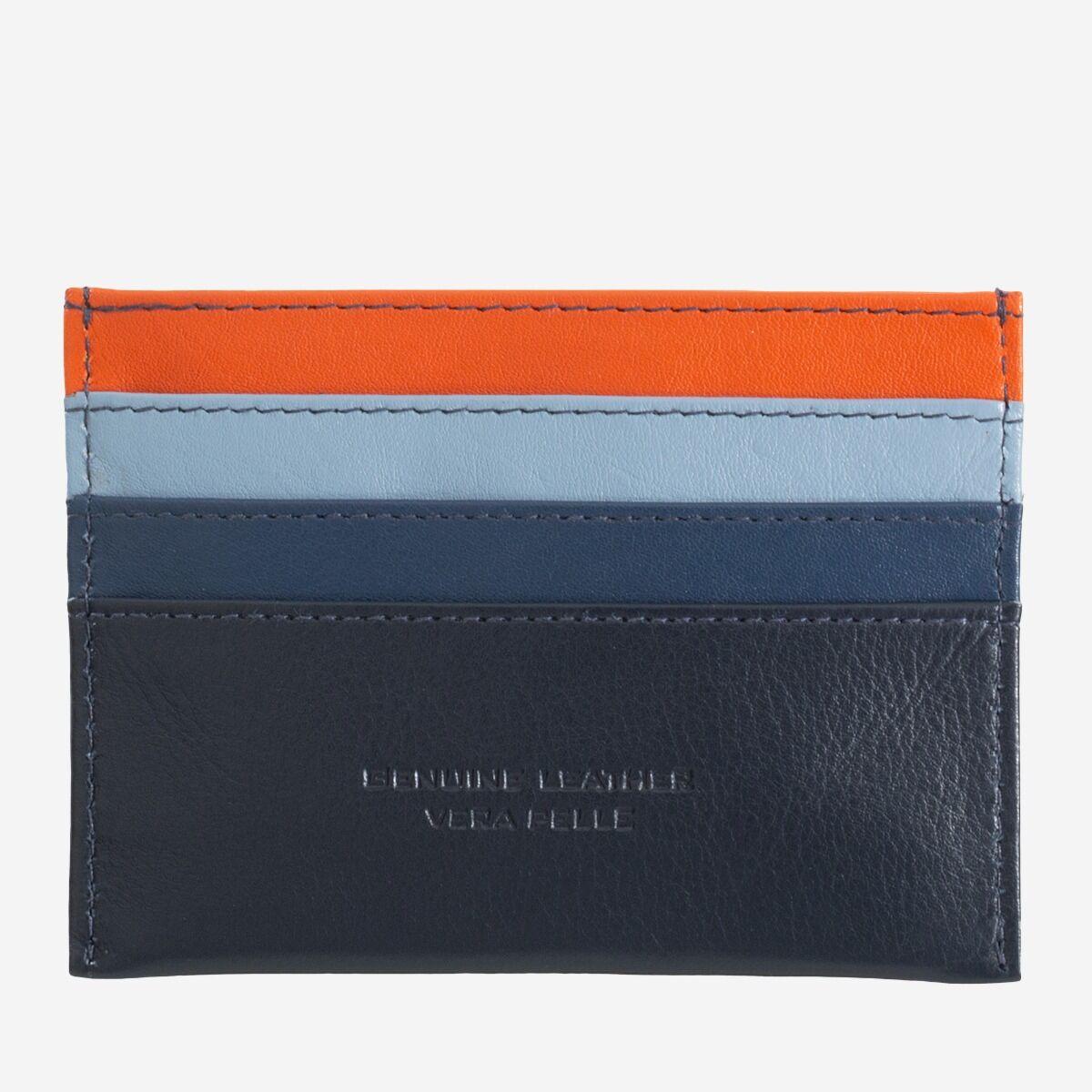 DuDu ארנק מינימליסטי לכרטיסי אשראי - כחול נייבי