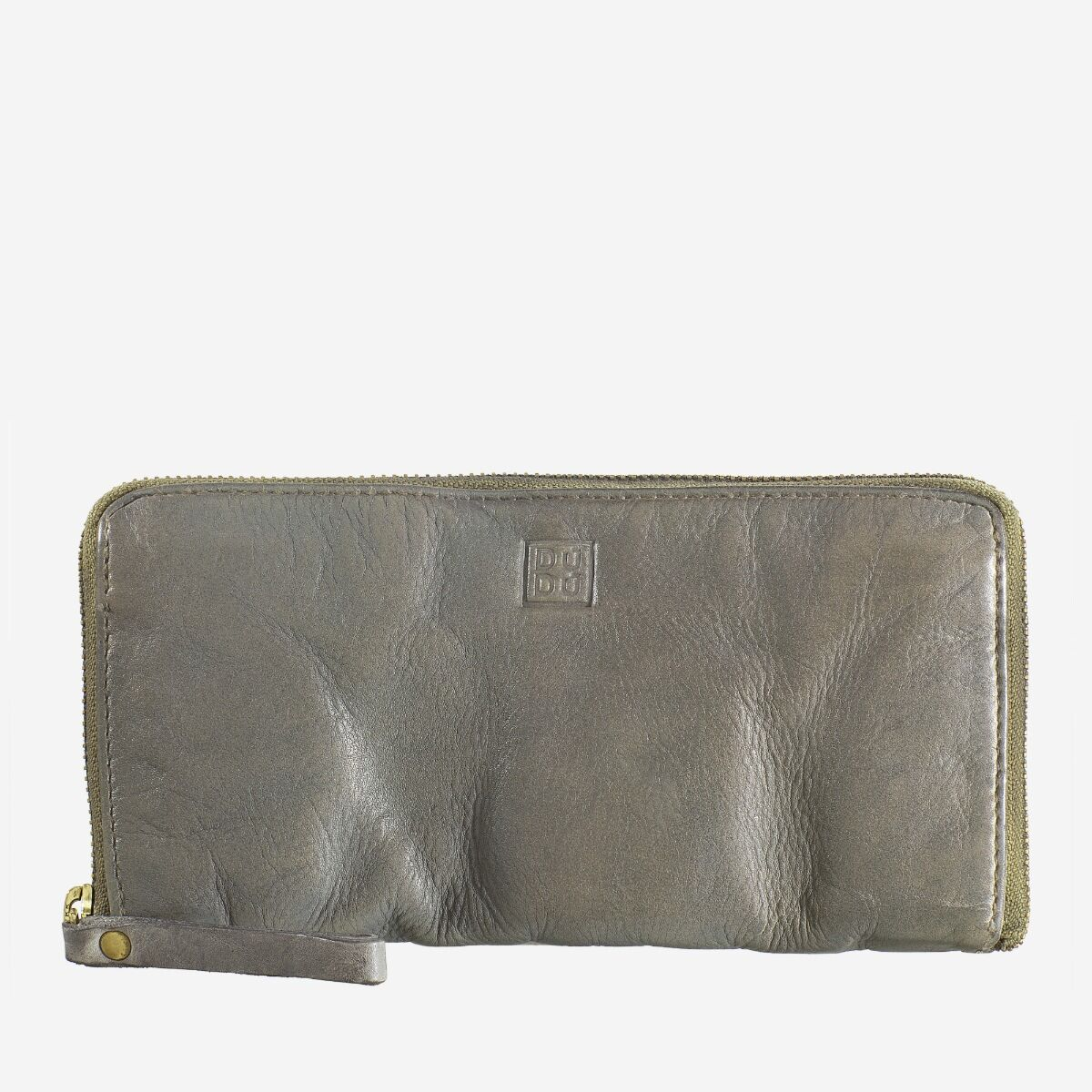 Woman's Hand-Made Soft Leather Wallet - Ash Gray