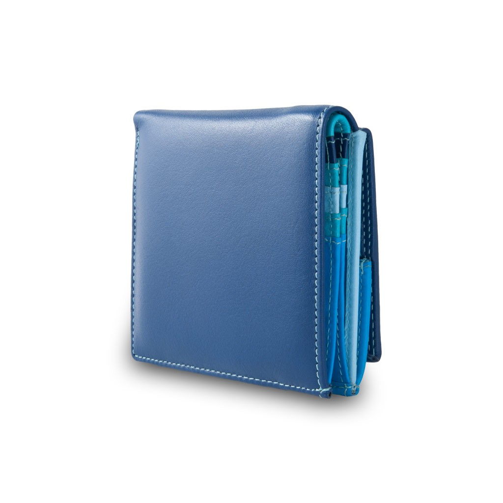 DuDu Small mans elegant wallet  - Blue