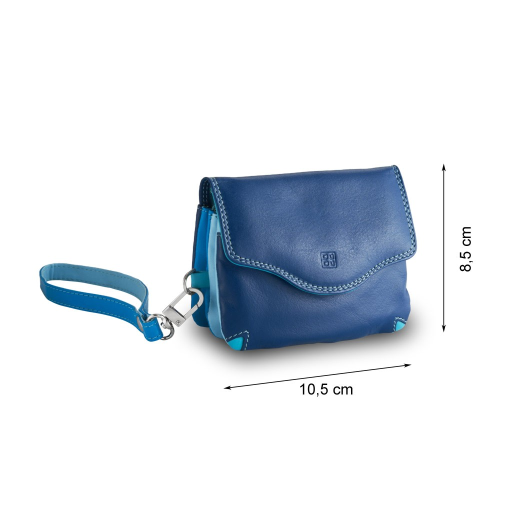 DuDu Small multi color handbag - Blue